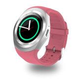 工場販売人間の特徴をもつSIMのカードY1のスポーツのスマートな腕時計Andriod