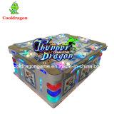 宝物魚のハンターのアーケード・ゲーム機械の熱い販売の雷ドラゴン王