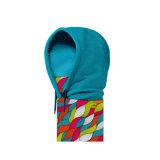 Blauer Hut-Stutzen-Wärmer Hoodie Schal saugen Schweiß auf (YH-HS225)