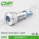 Impermeabilizzare la lampadina di segnalazione di 8mm LED/indicatore luminoso di indicatore
