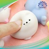 Speelgoed van de Bezorgdheid van de Verlichter van de Spanning van Kawaii Squishy van het Speelgoed van de Decompressie van de Dieren van Mochi Squishy van Satkago het Mini