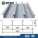 高い建物のための600mmの幅の床のDeckingシート