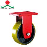 Modelo de Estados Unidos menos de pivote de servicio severo, rueda giratoria de ruedas de hierro