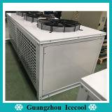 Tipo de caja de forma de V refrigerado por aire Bitzer/Copeland la refrigeración de la unidad de condensación para cámaras frigoríficas