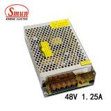 Smun S-60-48 60W 48V 1.25AのAC/DCによって切替えられる電源