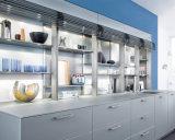 Da laca branca moderna livre do projeto de Ritz gabinete de cozinha italiano