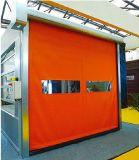Puerta automática del PVC del rodillo de alta velocidad del material de construcción de China