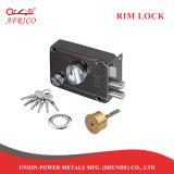 Het Slot van de Cilinder van het Messing van Lockset van de deur met Veilige Sleutel & Knop voor Ingezeten Veiligheidssysteem