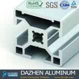 試供品陽極酸化された銀製のサンドブラストカラーのアルミニウムTスロットプロフィール