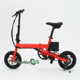 Mini bicicletta piegata portatile che piega bici elettrica