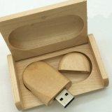 Azionamento di legno dell'istantaneo del USB del regalo promozionale con il contenitore di regalo di legno 32GB