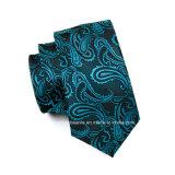 卸し売りペーズリーの標準的な絹のジャカードネクタイ