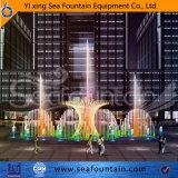 Элегантный декор на открытом воздухе фонтаном