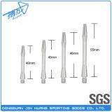 Asta cilindrica di alluminio del dardo di varie lunghezze