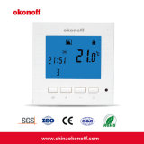 CE Programmeerbare LCD Water Verwarming Thermostaat met Back Light (S430PW)
