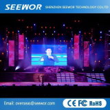 High Refresh Misses P7.62mm Indoor Rental LED Display with 732*732mm Cabinet