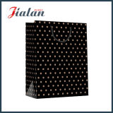157g Logo noir personnalisé imprimé Cheap Sac en papier kraft brun