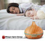 Diffusore chiaro di legno dell'olio essenziale dell'aroma 300ml del reticolo LED del migliore venditore