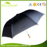 방풍 기능을%s 가진 2개의 겹 우산