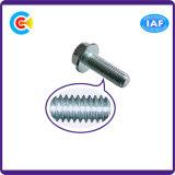 Carbon-Steel GB/DIN/JIS/ANSI/Stainless-Steel винт 4.8/8.8/10.9 фланцов для Railway здания моста