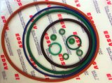 Joint circulaire en caoutchouc rouge de Brown de vert de noir bleu