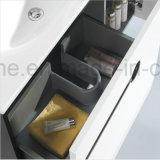 Gabinete moderno da vaidade do banheiro da laca fixada na parede com prateleira (ACS1-L29)