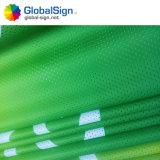 Kundenspezifische Gebäude-Fahnen-Polyester-Ineinander greifen-Fahne