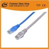 ネットワークコンピュータのイーサネットデータUTP Cat5 LANケーブルのパッチ・コードケーブル4X2X24AWG CCA/Bc