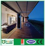 Puerta de plegamiento de aluminio de Pnoc080325ls con estilo italiano