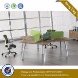 Partition moderne de bureau de poste de travail en verre de meubles (UL-NM028)