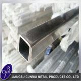 201 304 Hairling carré en acier inoxydable brossé tuyau rectangulaire