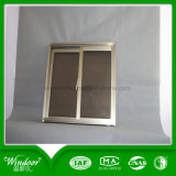 O tipo econômico alumínio Windows deslizante, dobra o perfil de alumínio vitrificado Windows
