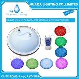 Indicatore luminoso subacqueo di telecomando 12V della plastica PAR56 LED della lampada impermeabile della piscina