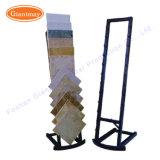 Moderne Metallkeramikfußboden-Fliese-Ausstellungsraum-Bildschirmanzeige-Zahnstange
