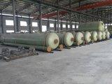 Tanque plástico reforçado fibra da embarcação de Conatiner do armazenamento de FRP