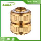 """3/4の""""ホースのコネクターアセンブリ調節可能な管のコネクターの黄銅のコネクター"""