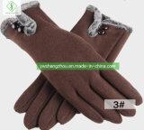 Heiße Verkaufs-Form-Damen wärmen Baumwollhandschuh-durchschnittliche Größe Autumn&Winter