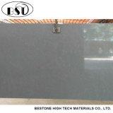 Laje de pedra marmoreando cinzenta resistente ao calor de quartzo