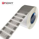 Embutimento impermeável personalizado da freqüência ultraelevada 860-960MHz da impressão RFID do logotipo para a lavanderia