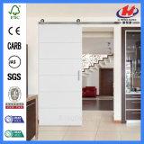 現代ホーム合成の白く主な小型の木のドア