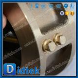 Valvola di ritenuta doppia della cialda del piatto dell'acciaio inossidabile di Didtek api 6D