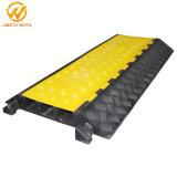 cubierta de goma de la cuerda de las ranuras del suelo 3 de la chaqueta amarilla de 900*500*75m m
