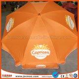 Parapluie de plage extérieur de publicité promotionnel bon marché d'impression faite sur commande de Digitals