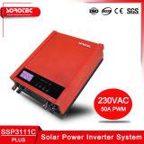 1000-2000va PWM embutido Controlador de Carga Solar Inversor Solar