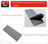 켄트 패드 인쇄 기계를 위한 감광성 유화액 0.25mm 강철 플레이트