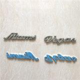 voor ABS van het Chroom van de Stickers van het Lichaam van de Auto het Zelfklevende Teken van het Embleem