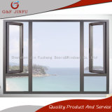 Guichet en aluminium d'oscillation/guichet en aluminium de tissu pour rideaux de double vitrage