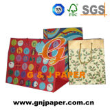 Gift Prototype Wrapping를 위한 다채로운 Paper Bag Used