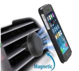Aérateur universel Support voiture magnétique, Aérateur de voiture en silicone de montage de support de téléphone mobile