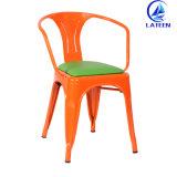 لون غلّة كرم صناعيّة يتعشّى كرسي تثبيت مطعم معدن إطار كرسي تثبيت